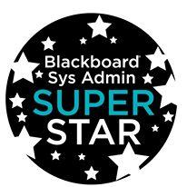 Blackboard Sys Admin Super Star